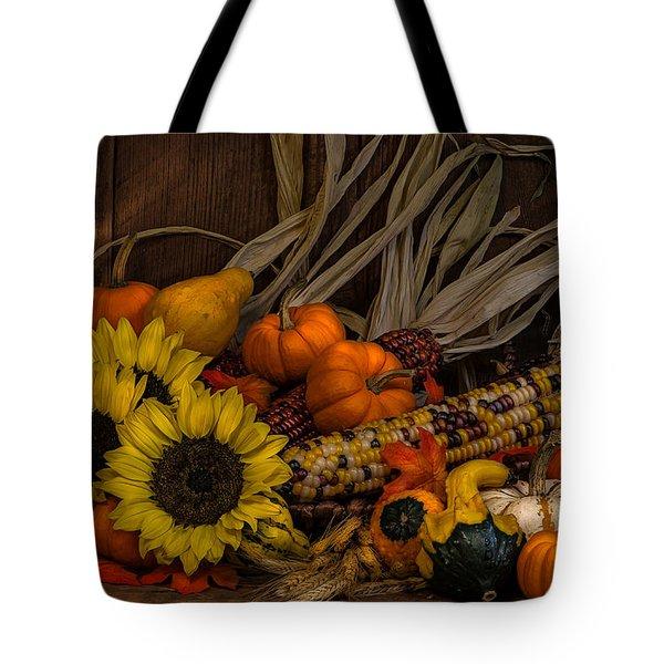 Harvest Season Tote Bag