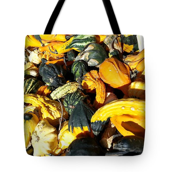 Tote Bag featuring the photograph Harvest Squash by Caryl J Bohn