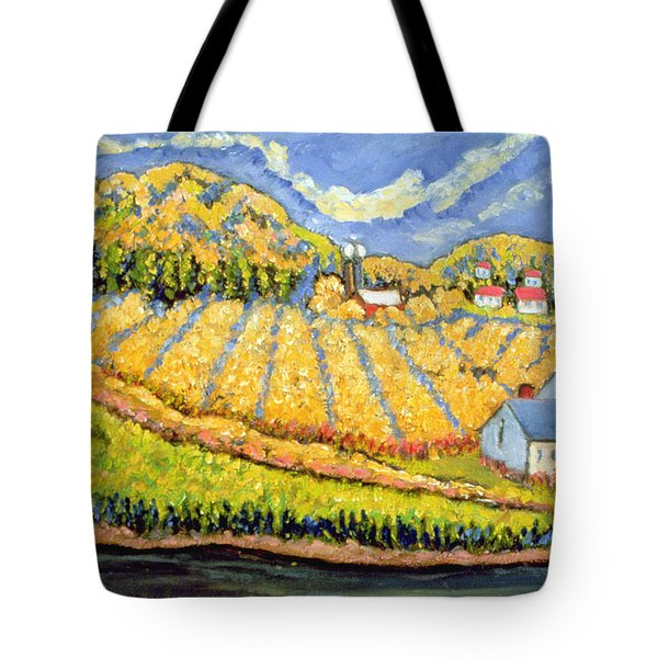 Harvest St Germain Quebec Tote Bag by Patricia Eyre
