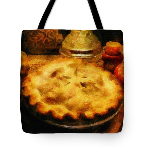 Harvest Table Tote Bag by RC deWinter