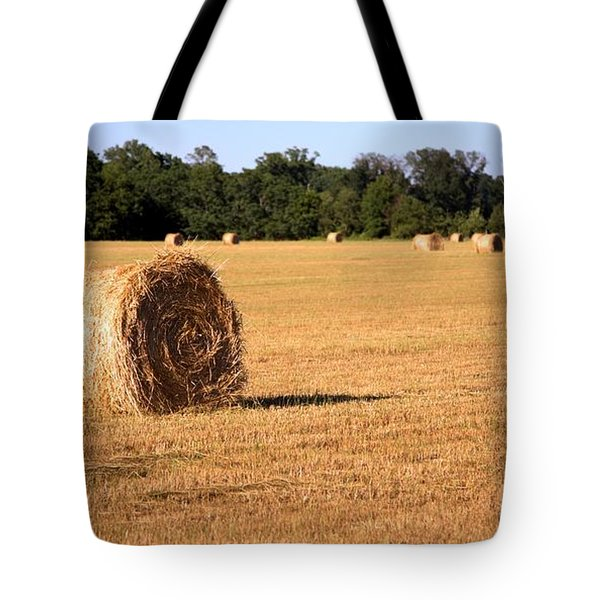 Tote Bag featuring the photograph Harvest Time by Gordon Elwell