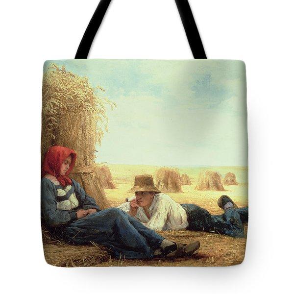 Harvest Time Tote Bag by Julien Dupre