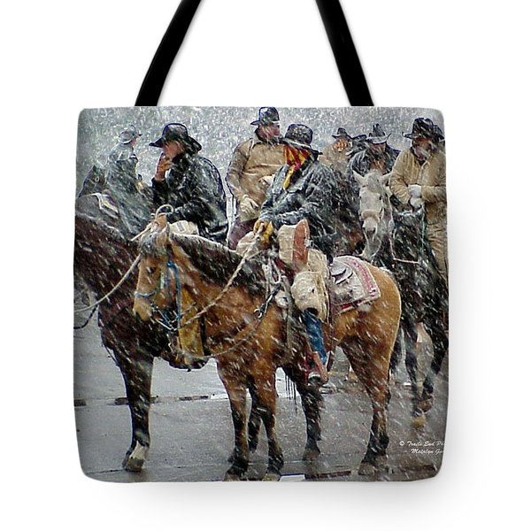 Hashknife Pony Express Tote Bag