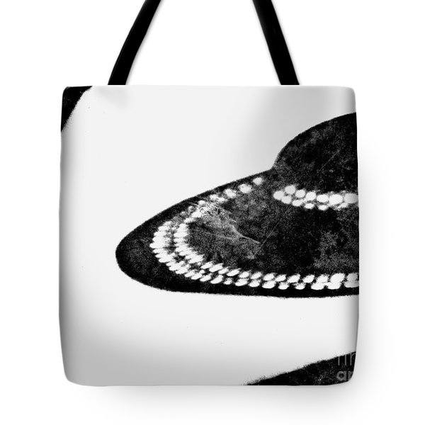 Hat Check Tote Bag