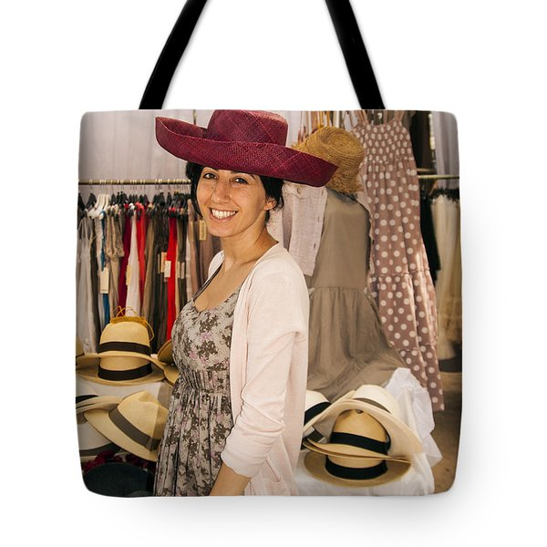 Hats Tote Bag by Bob Phillips