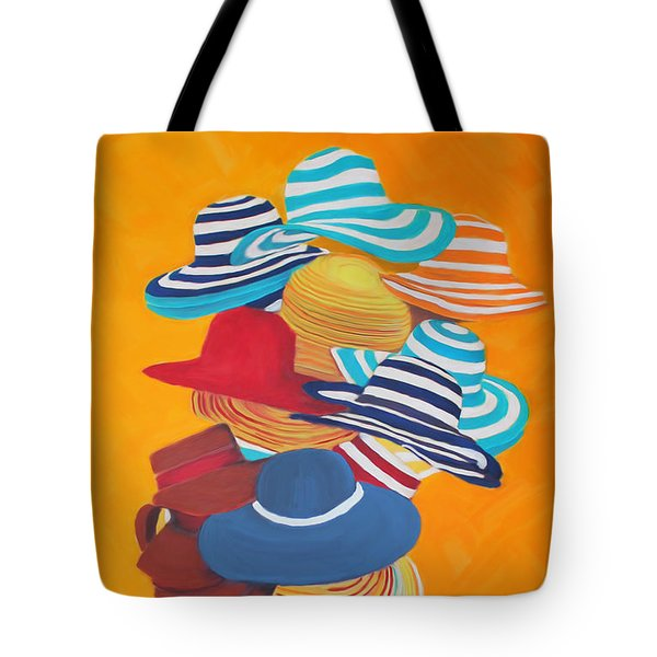 Hats Off Tote Bag