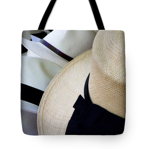 Hats Off To You Tote Bag by Lainie Wrightson