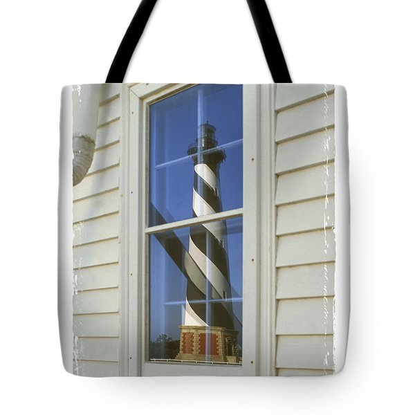 Hatteras Lighthouse  S P Tote Bag by Mike McGlothlen
