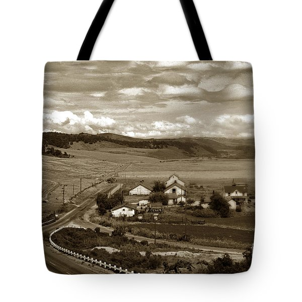 Hatton Ranch Carmel Valley From Highway One California  1940 Tote Bag