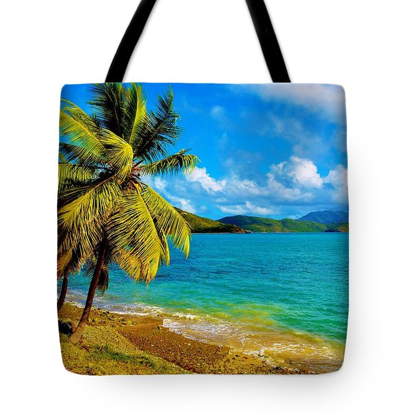 Haulover Bay Usvi Tote Bag
