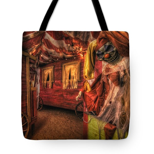 Haunted Circus Tote Bag