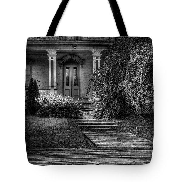 Haunted - Haunted II Tote Bag by Mike Savad