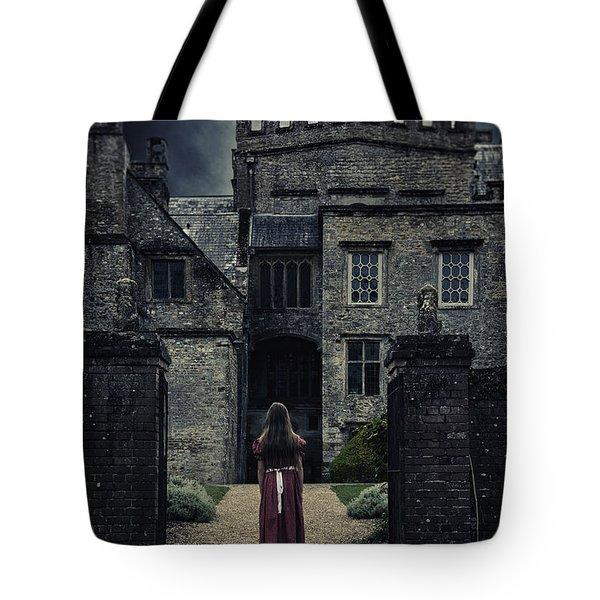 Haunted House Tote Bag by Joana Kruse