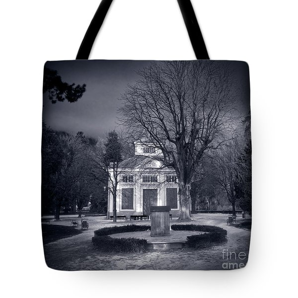 Haunted House Tote Bag by Michal Bednarek