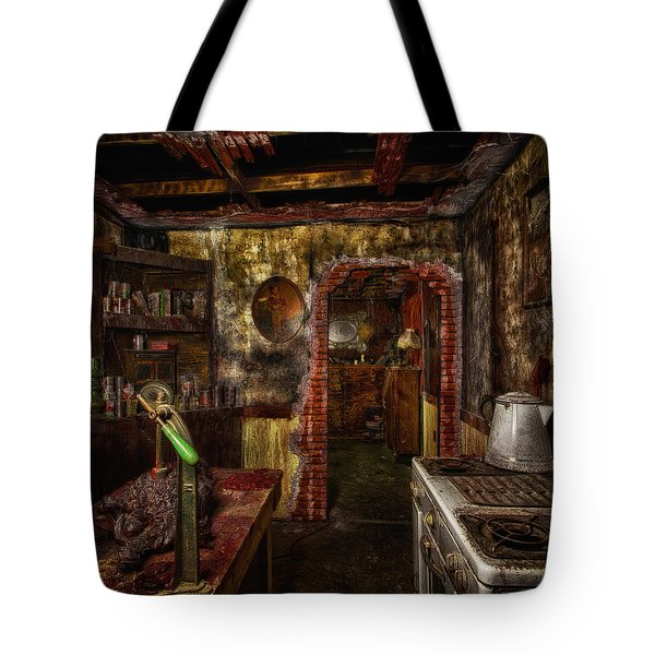 Haunted Kitchen Tote Bag