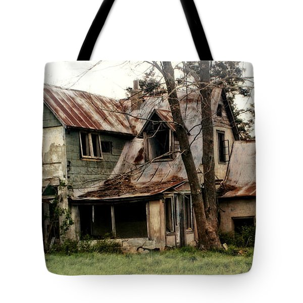 Haunted Tote Bag by Marty Koch