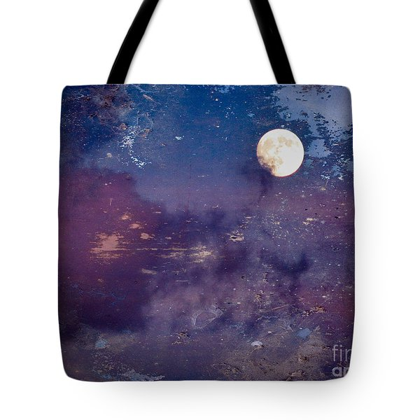 Haunted Moon Tote Bag