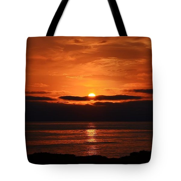 Haunting Sunset Tote Bag