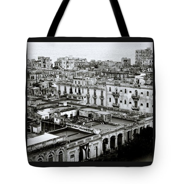 Havana City Tote Bag by Shaun Higson
