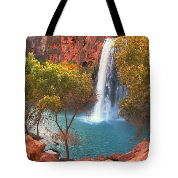 Havasu Falls Tote Bag by Alan Socolik