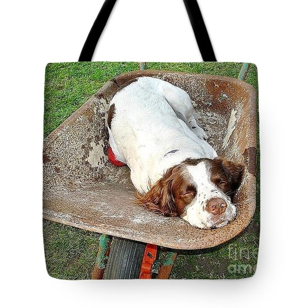 Time For A Break... Tote Bag
