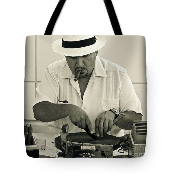 Have A Cigar Tote Bag by Gwyn Newcombe