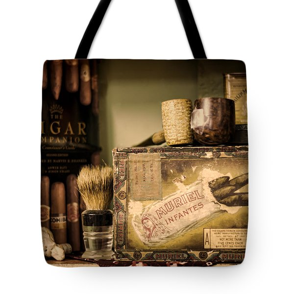 Have A Cigar Tote Bag by Heather Applegate