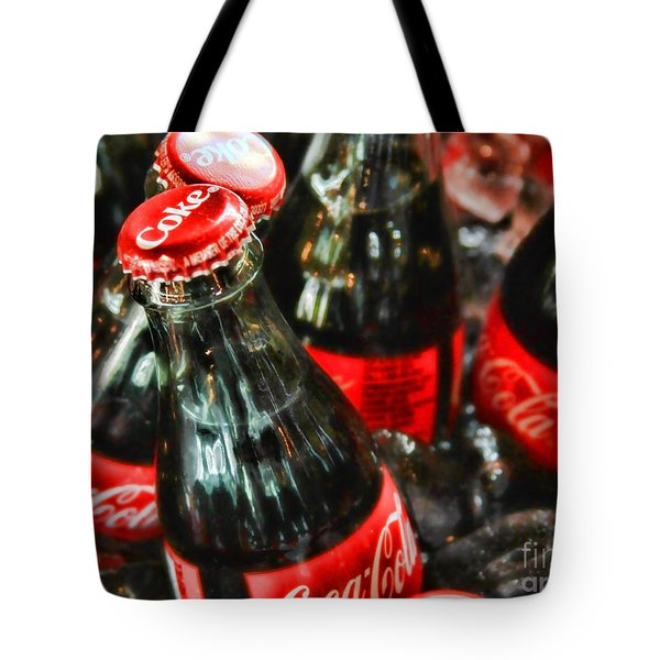 Have A Coke And Give A Smile By Diana Sainz Tote Bag