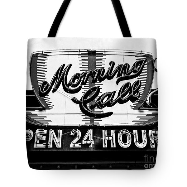 Have A Cup Of Coffee At Morning Call New Orleans Tote Bag by Kathleen K Parker