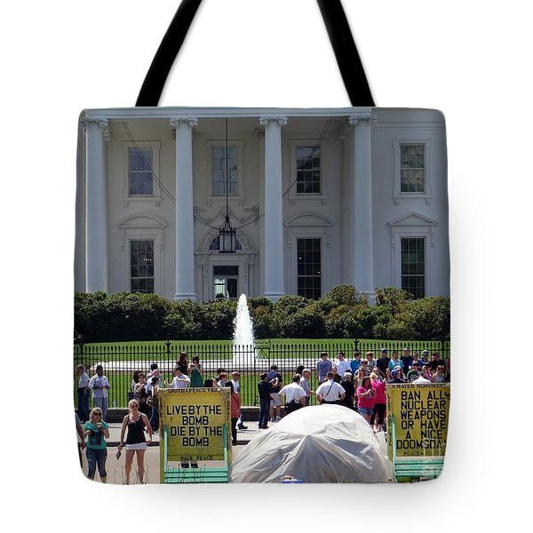 Tote Bag featuring the photograph Have A Nice Doomsday by Ed Weidman