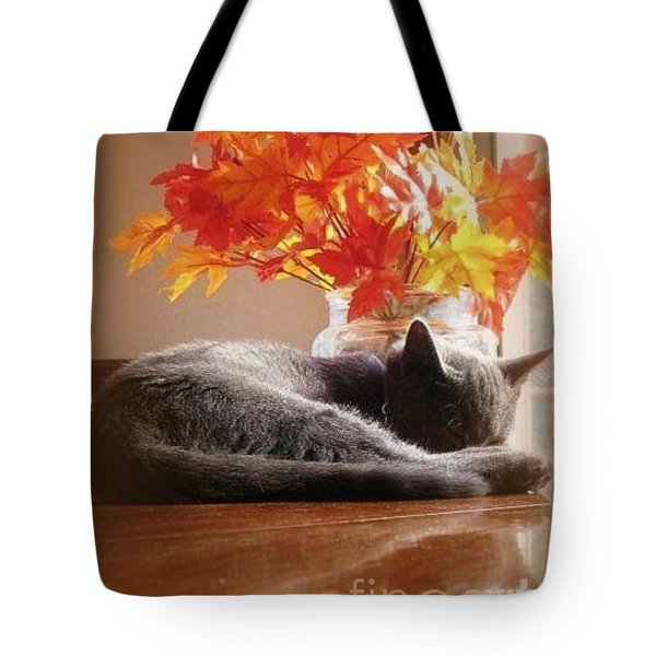 Have A Restful Thanksgiving Tote Bag by Jennifer E Doll