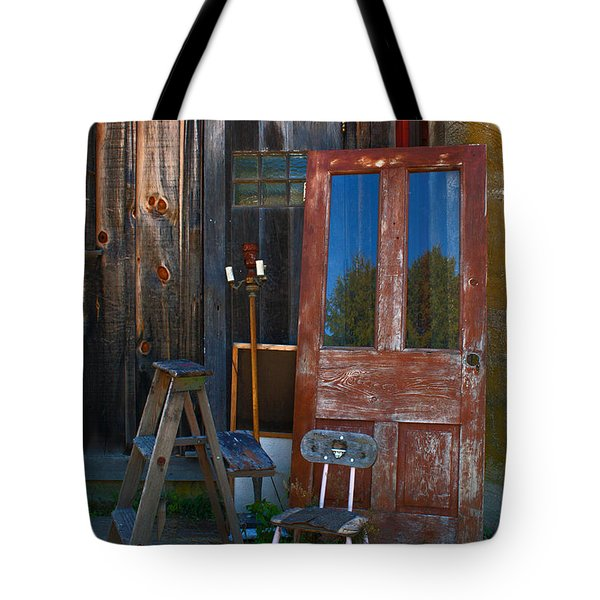 Have A Seat Tote Bag by Michael Porchik