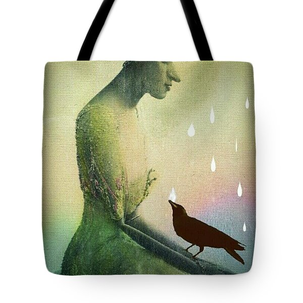 have I seen you here before? Tote Bag