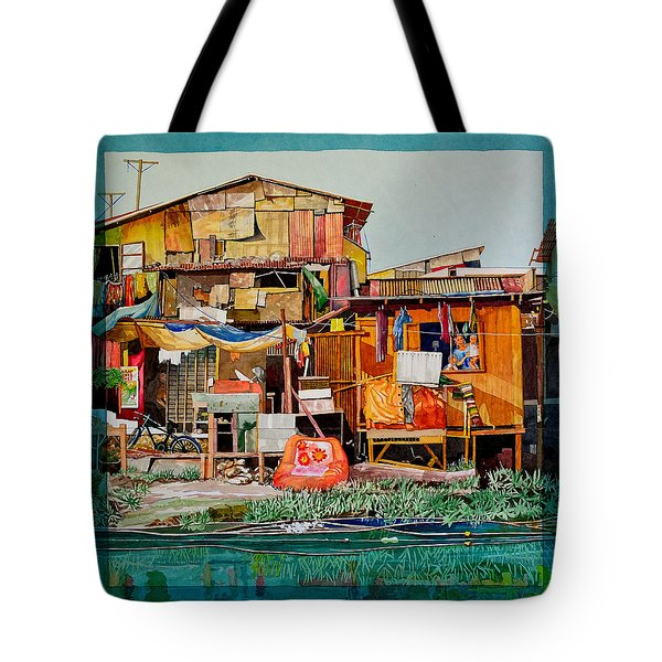 House Of Reused Building Materials Tote Bag