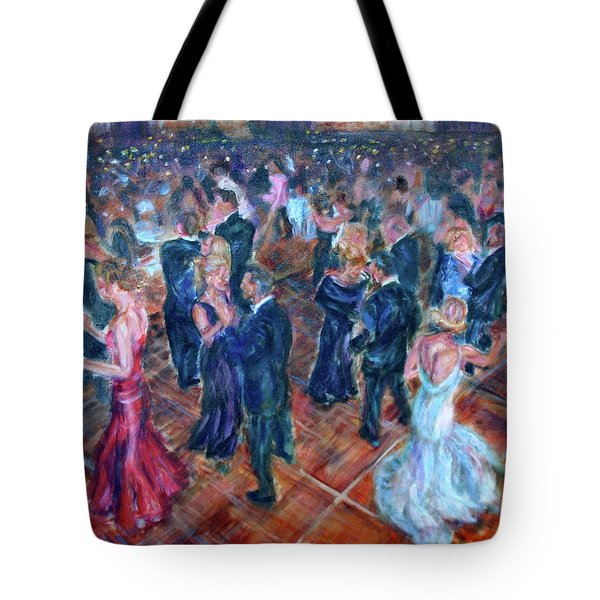 Having A Ball - Dancers Tote Bag by Quin Sweetman