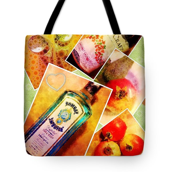 Having Nothing To Do In The Hotel Room Series. Tote Bag by Mary Machare