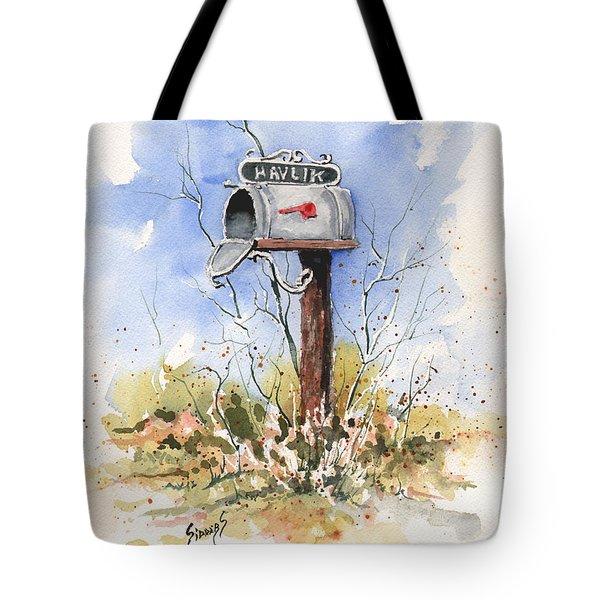 Havlik's Mailbox Tote Bag