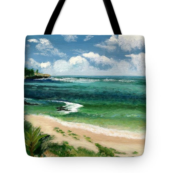 Hawaii Beach Tote Bag by Jamie Frier