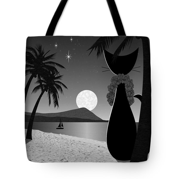 Tote Bag featuring the digital art Hawaii by Donna Mibus