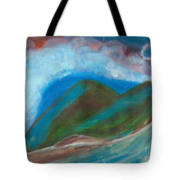 Hawaiian Breeze Tote Bag