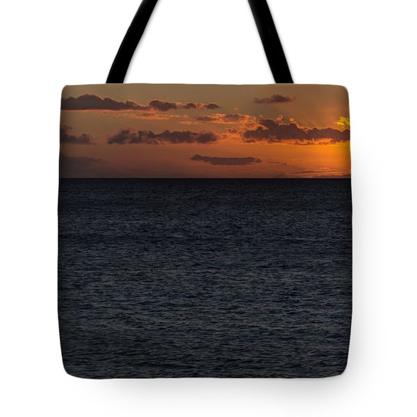 Tote Bag featuring the photograph Hawaiian Nights  by Heidi Smith