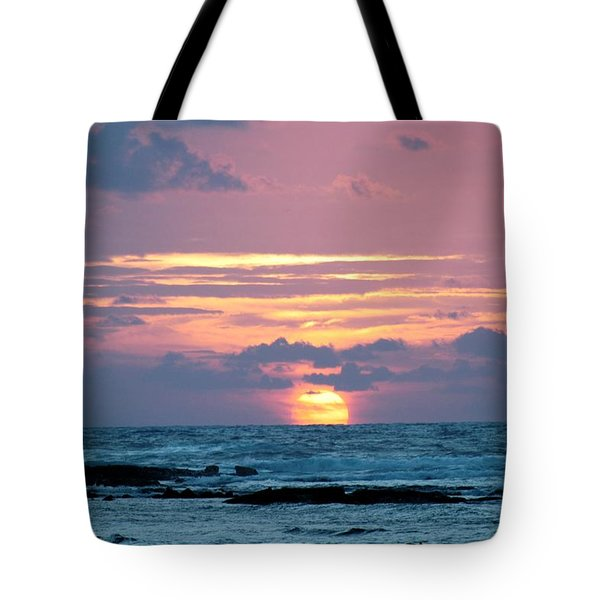 Hawaiian Ocean Sunrise Tote Bag by Lehua Pekelo-Stearns