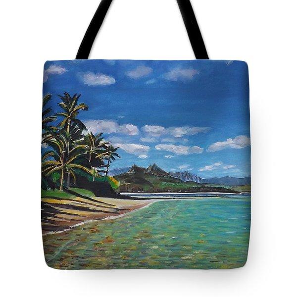 Hawaiian Paradise Tote Bag by Richard Nowak