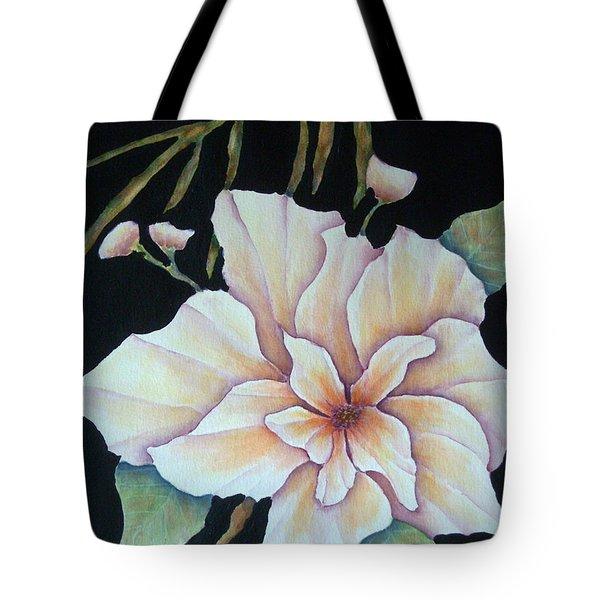 Hawaiian Pua Tote Bag by Pamela Allegretto