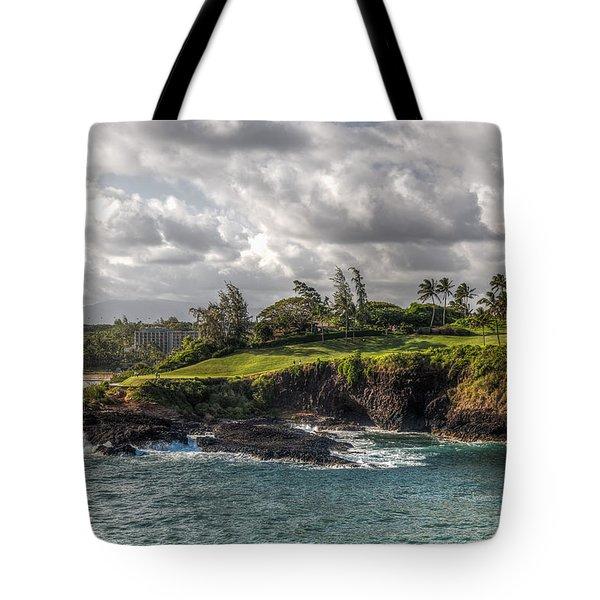 Hawaiian Shores Tote Bag by Bill Lindsay