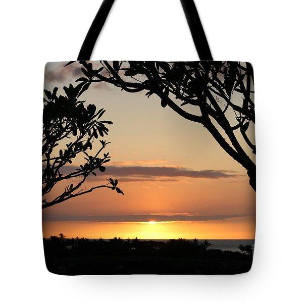 Hawaiian Sunset All Profit Go To Hospice Of The Calumet Area Tote Bag