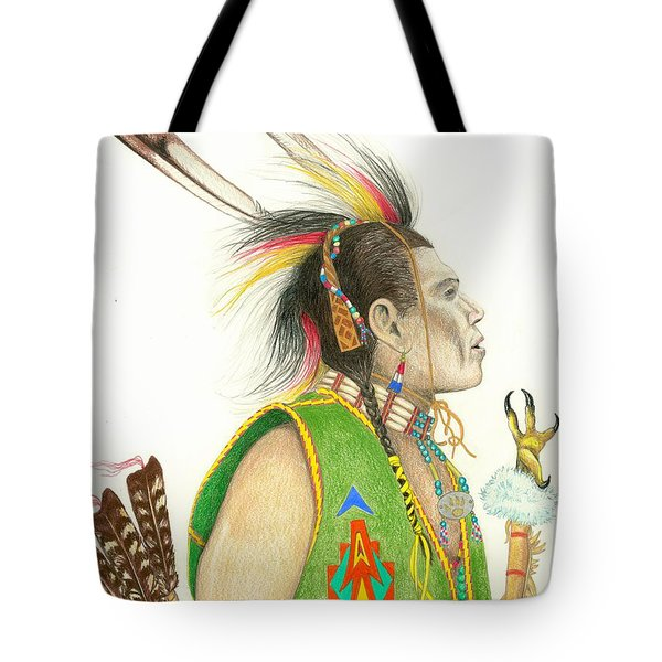 Hawk Foot Tote Bag by Lew Davis