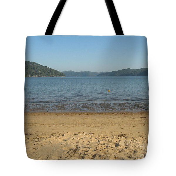 Tote Bag featuring the photograph Hawksbury River From Dangar Island by Leanne Seymour