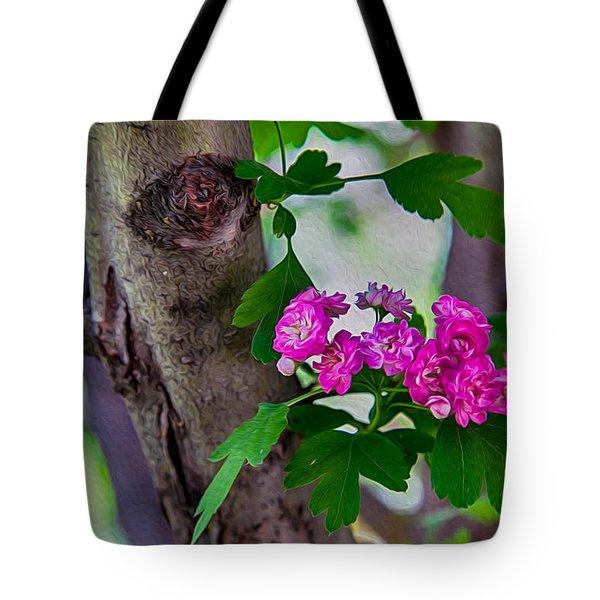 Hawthorn Romance Tote Bag by Omaste Witkowski
