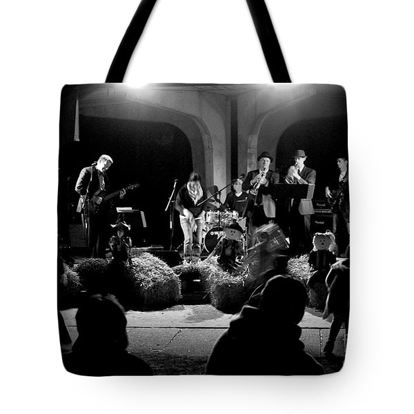 Hay Dance Tote Bag
